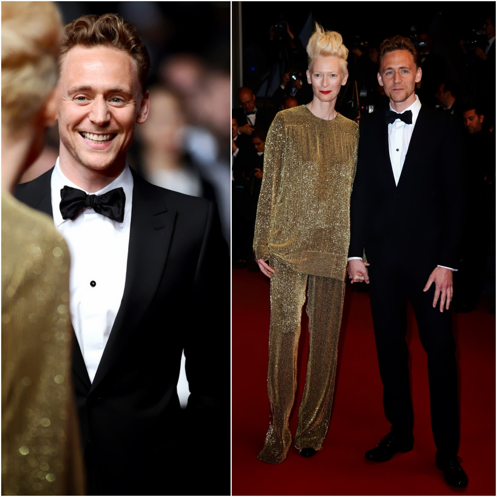 00O00 Menswear Blog: Tom Hiddleston in Alexander McQueen - 'Only Lovers Left Alive' premiere during The 66th Annual Cannes Film Festival May 2013