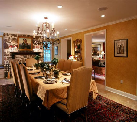 tuscan dining room design ideas | home interiors