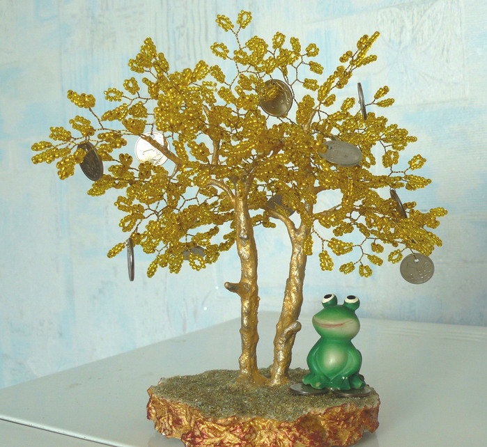 Бисероплетение деревья из бисера