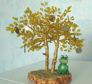 изделия из бисера деревья