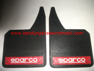 Mudguard Exclusive Sedan Sparco Merah