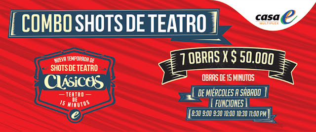 16° TEMPORADA DE SHOTS DE TEATRO