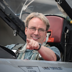 Linus Torvalds - creator of Linux.