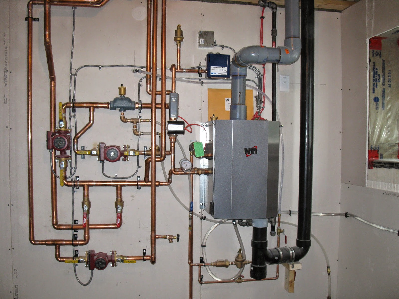 Residential boiler piping diagram residential get free for The best heating system for home
