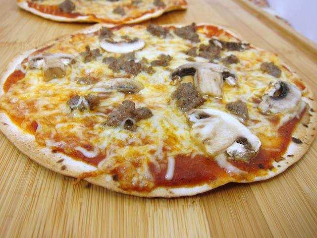 Как сделать пицц на сковородке