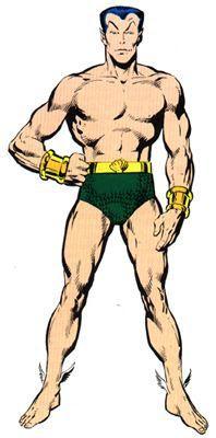 Dibujo de Namor-Marvel