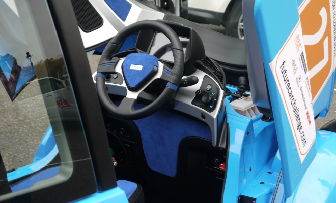 Gordon Murray T27 cockpit
