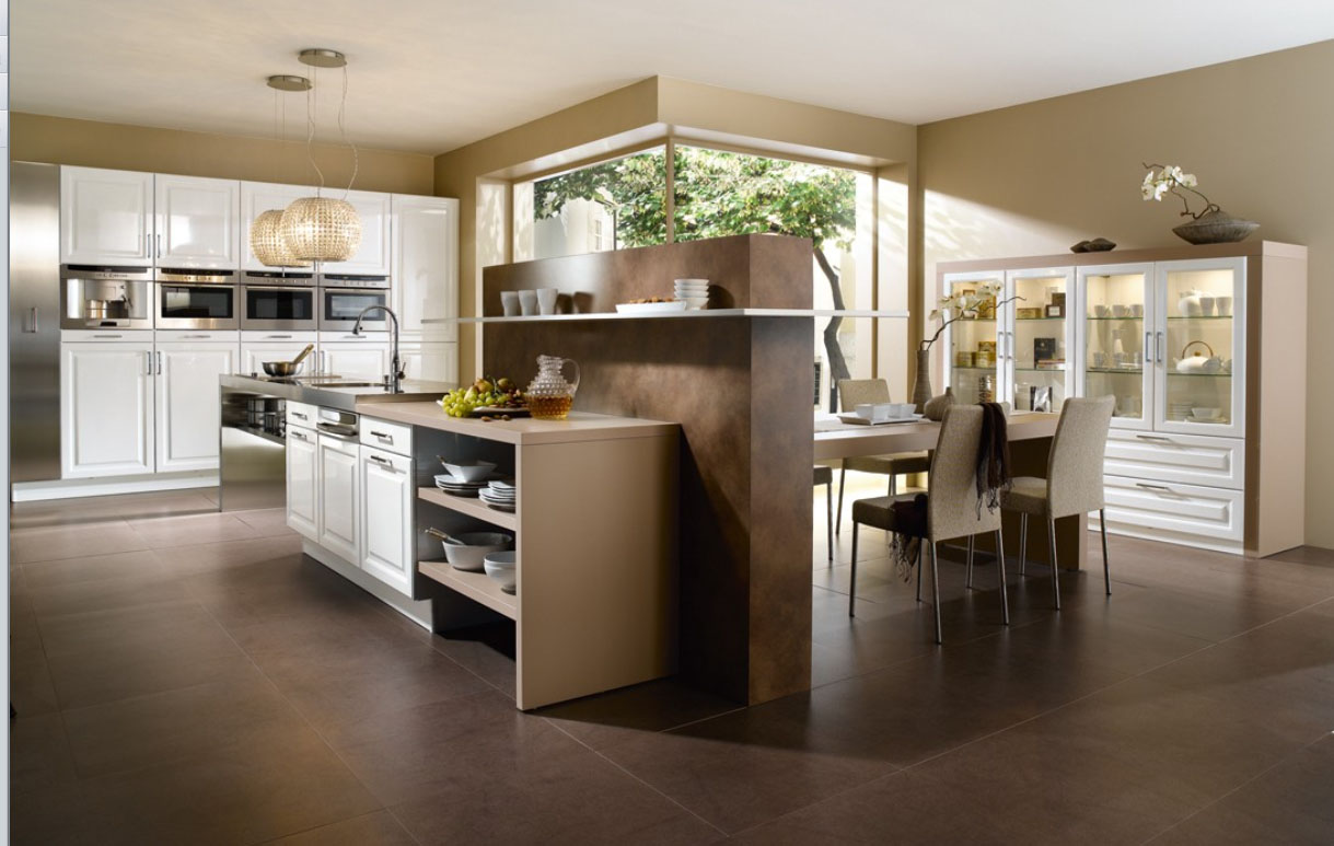 Modern French Style Kitchen