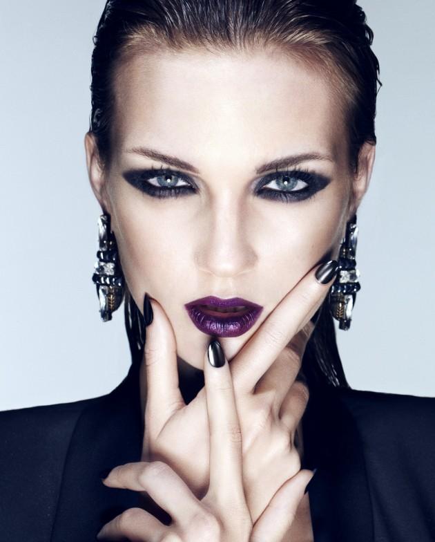 Tendencia en maquilla | Moda en color oscuro