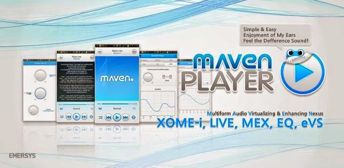 Download MAVEN Music Player Pro Apk