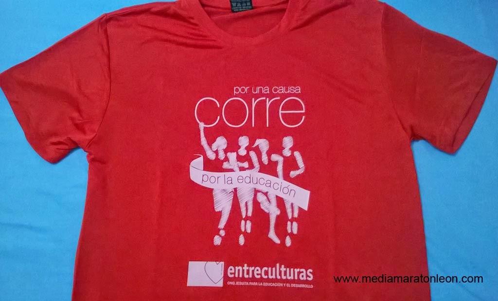 Camiseta carrera entreculturas corre por una causa