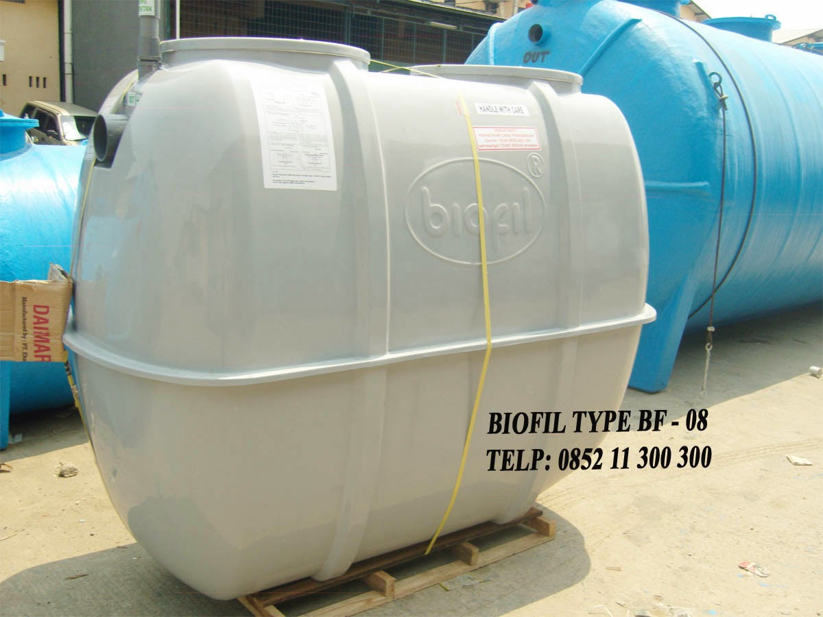 SEPTIC TANK BIOFIL BF 8