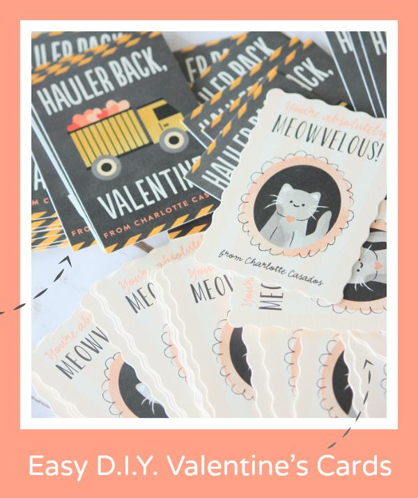Easy DIY Valentine's Cards