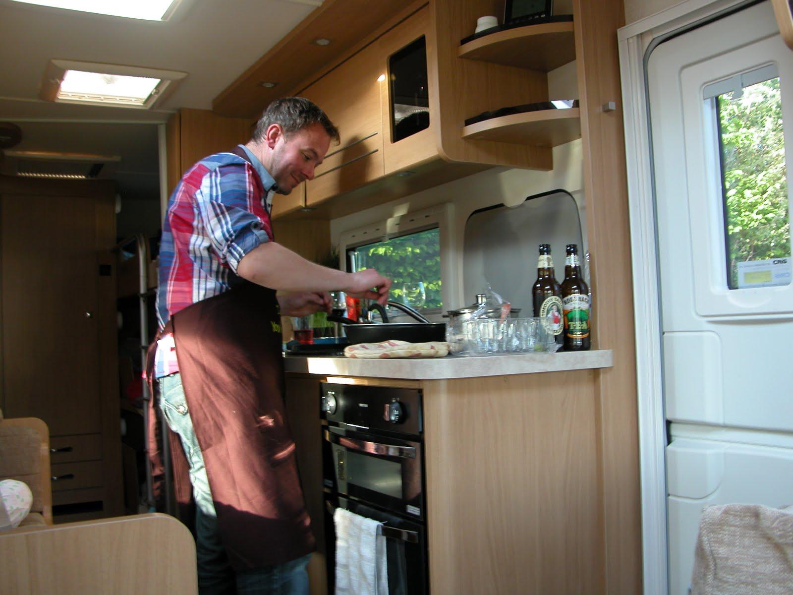 In My Caravan Kitchen
