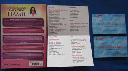 Buku Cara Cepat Hamil Dr. Rosdiana Ramli SPoG