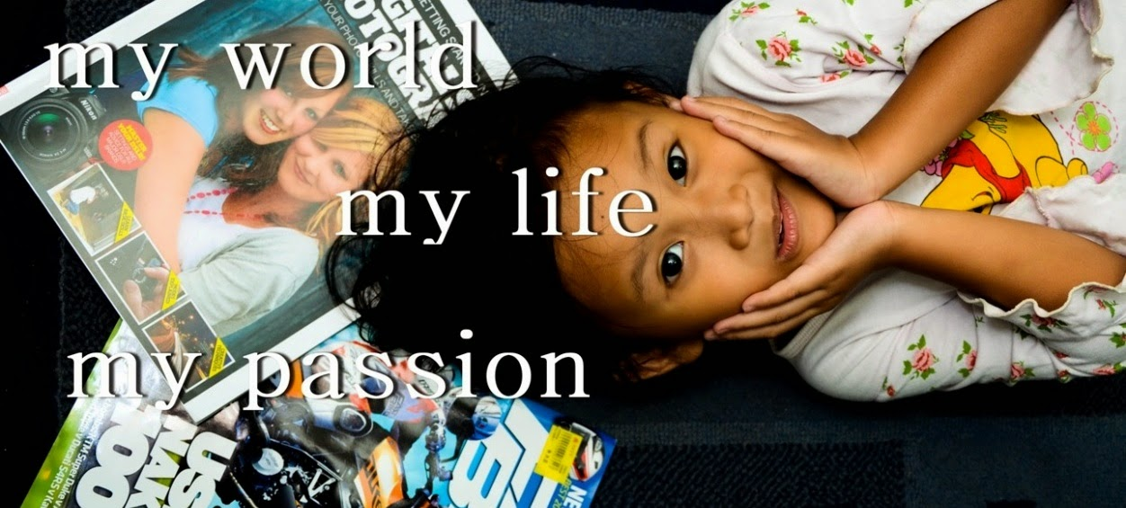 ...My World..My Life..My Passion...