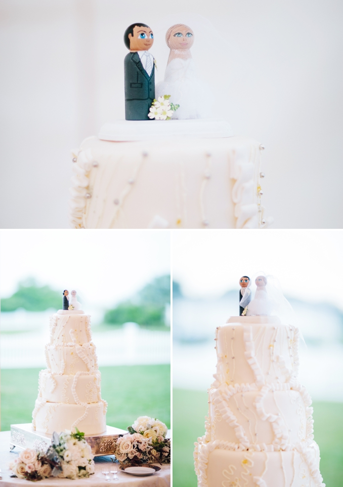 monique lhuillier mermaid dress wedding cake photos by STUDIO 1208