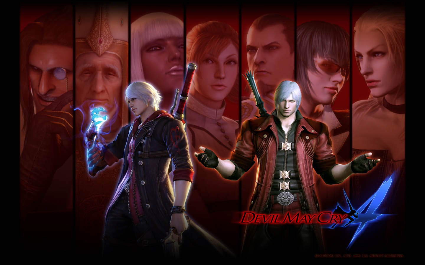 Devil May Cry 4 - Gallery Colection