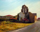 Solar y torre iglesia Calabazas