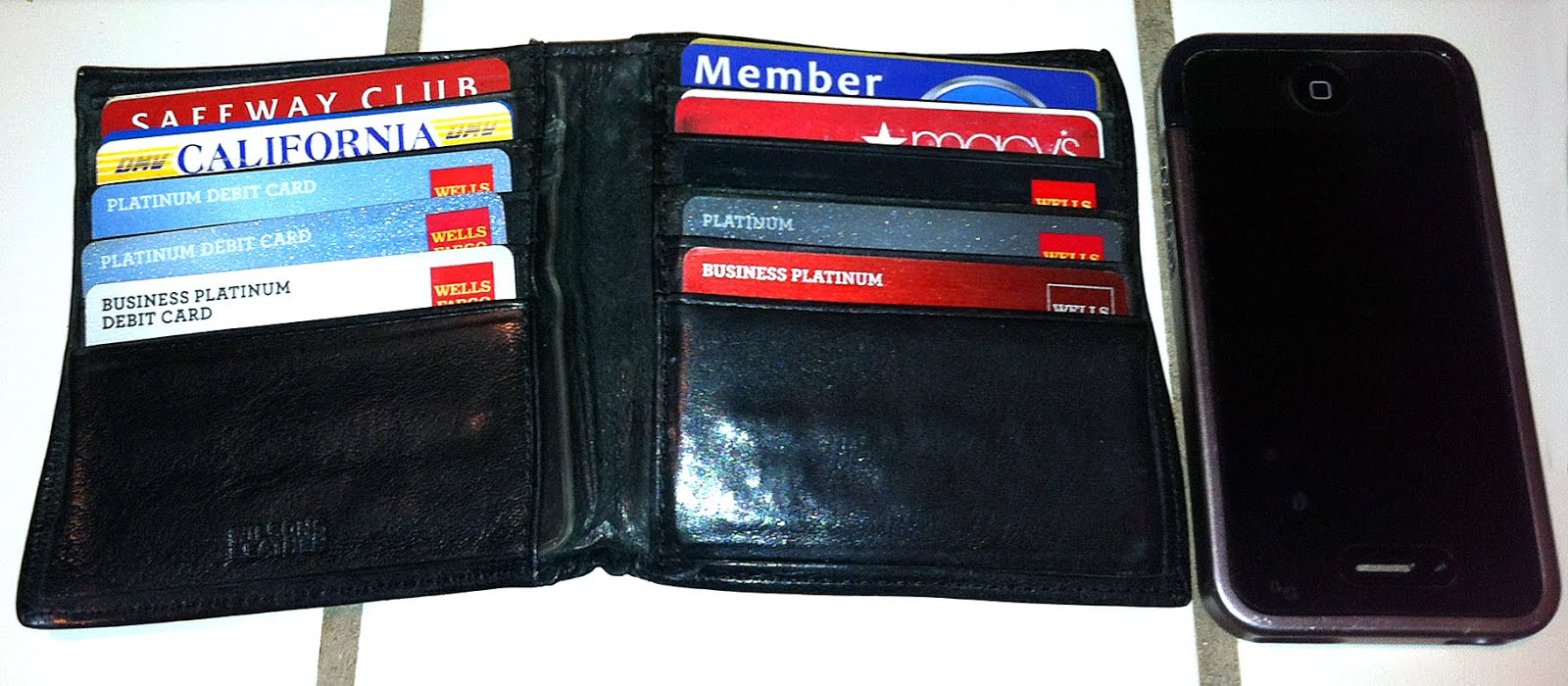 BulletTrain BulletBlog by JakeE: Wallet Autopsy #2 The Organized Packrat