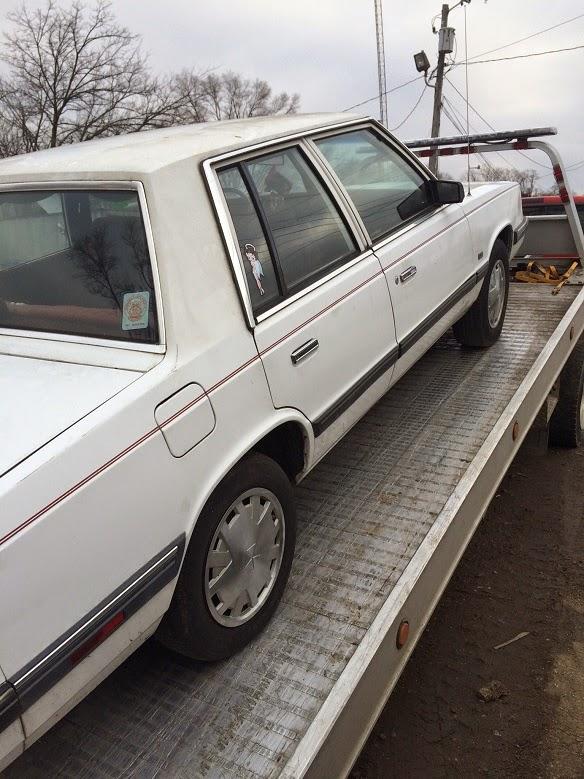 1988 Dodge Aries K Car