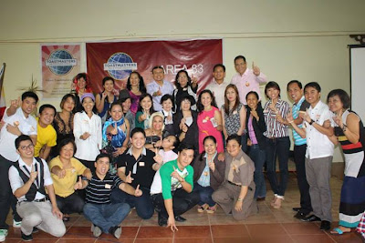 Area 83 Toastmasters with Division/District Officers