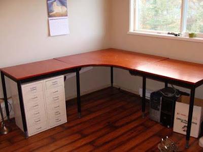 DIY Home Office Desk