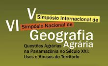 V Simpósio Internacional de Geografia Agrária -  07 a 11 de novembro de 2011