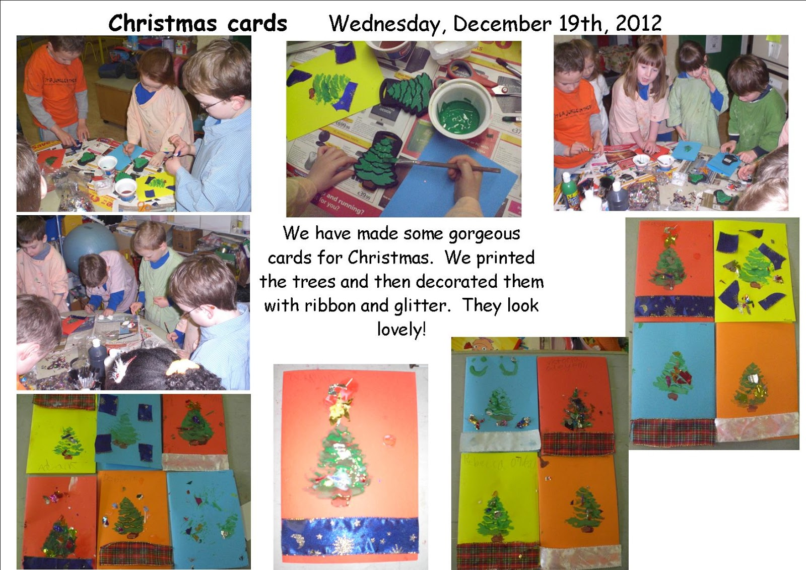 Art Music And Drama Page Fridge Magnets Christmas Cards