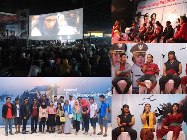Ribuan Warga Banten Saksikan Film Jawara Kidul di FTL 2015