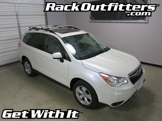 This Complete Multi Purpose Base Roof Rack Is For The 2014, 2015, And 2016* Subaru  Forester SUV That Has The Factory Raised Side Rails, Includes Models ...