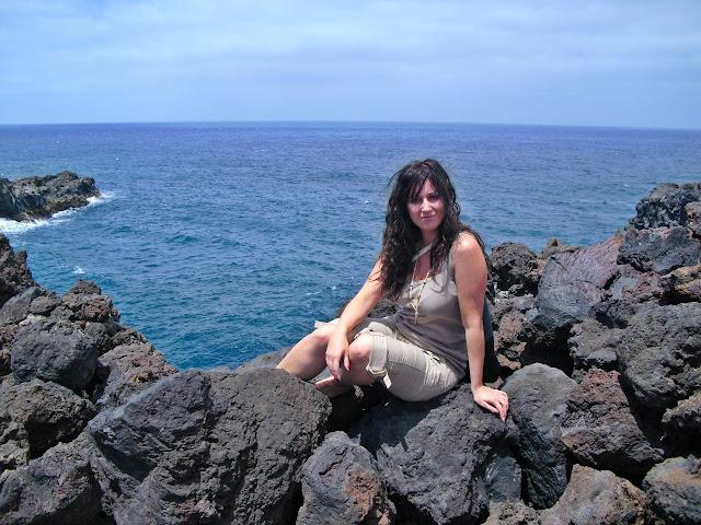 Los Hervideros en Lanzarote (Islas Canarias)