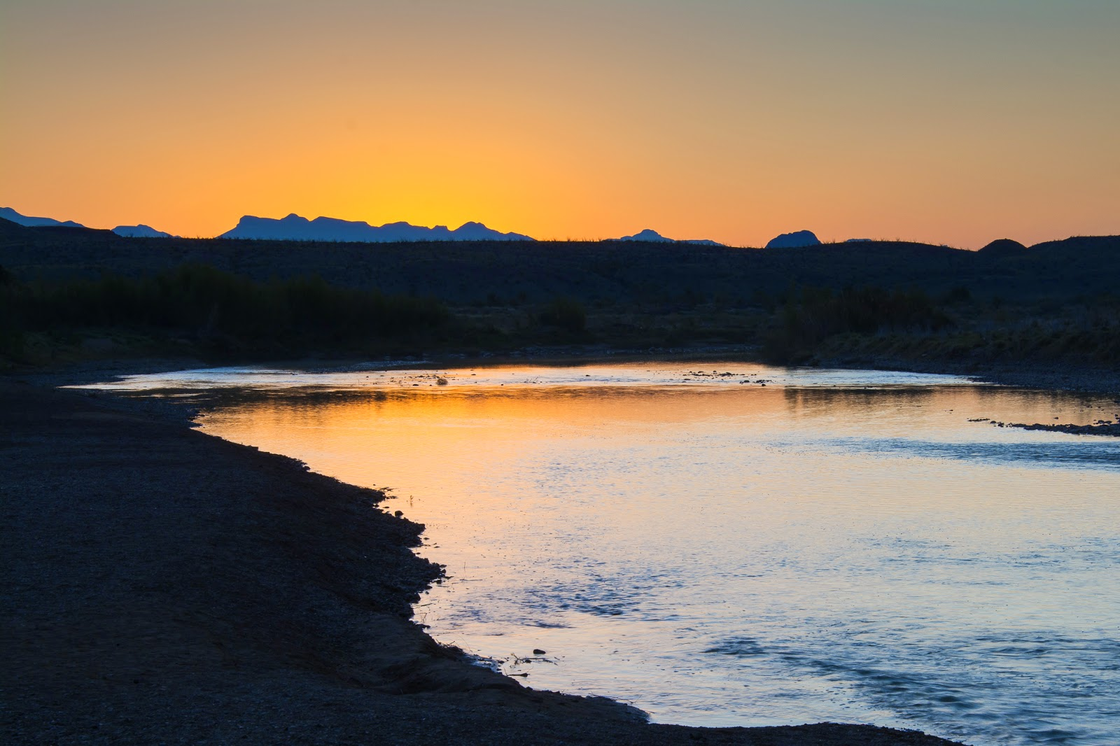 Sunrise, Rio Grande