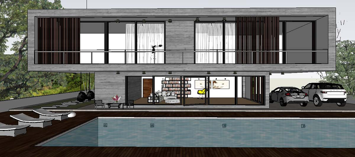 sketchup texture: excellent free sketchup model concrete block