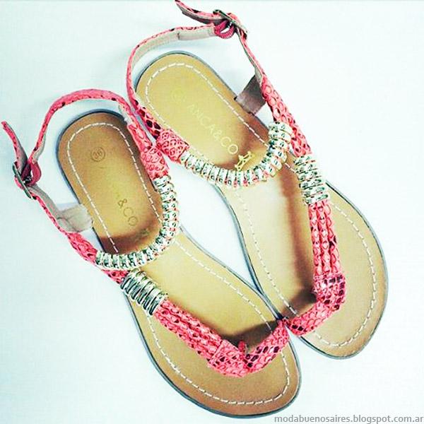 Sandalias 2015 Anca Co. Moda verano 2015 calzado femenino.