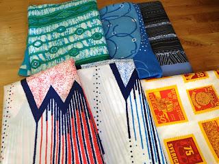 tyg metervara textil jersey trikå vävd bomull maud fredin fredholm frimärkstyg