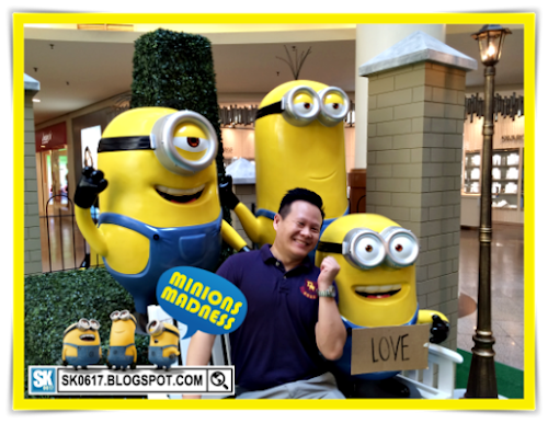 Despicable Me Minions Madness @ MidValley 2015