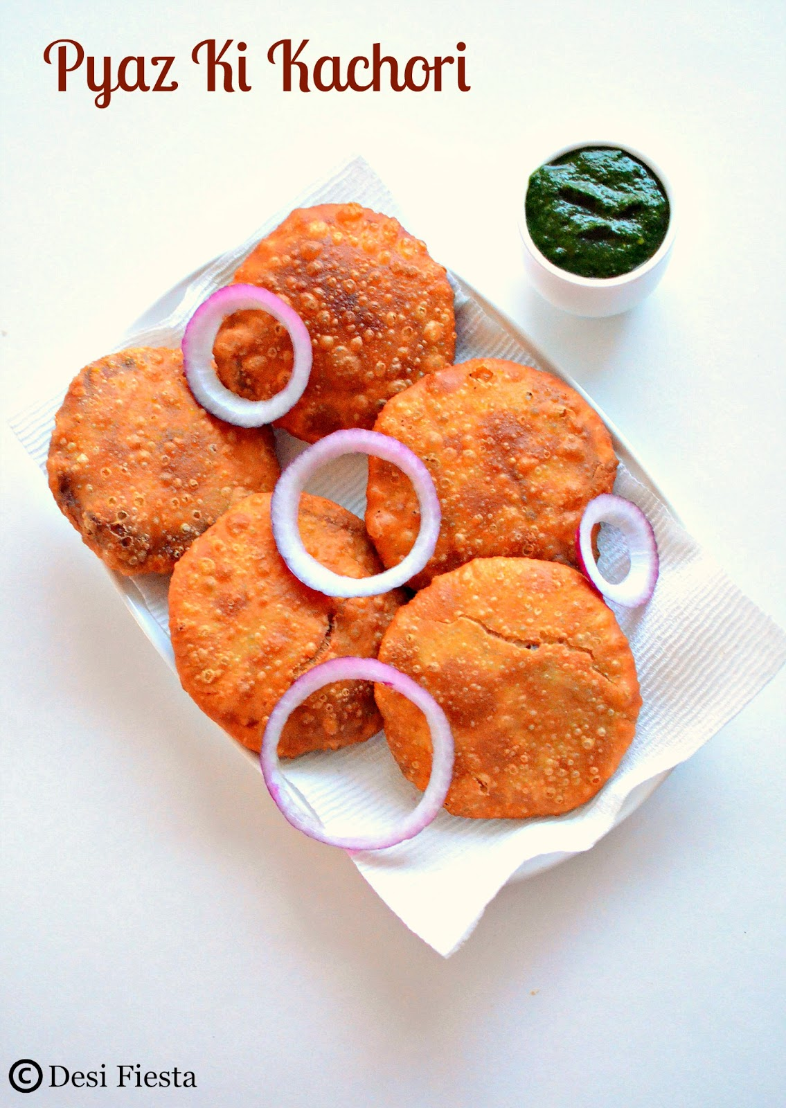 Jodhpuri Pyaz Ki Kachori