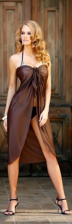 Sexy Sleeve Maxi Dress