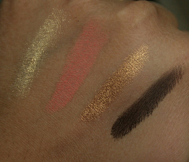 bareMinerals eady 4.0 Eye Shadow Quads in The Next Big Thing Swatches