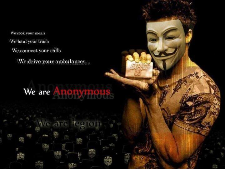 Anonymous ART Of Revolution We Are Legion