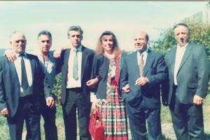 Loly Señaris Calviño con sus tíos.
