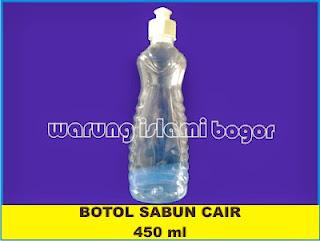 Jual Botol Sabun Cair 450ml