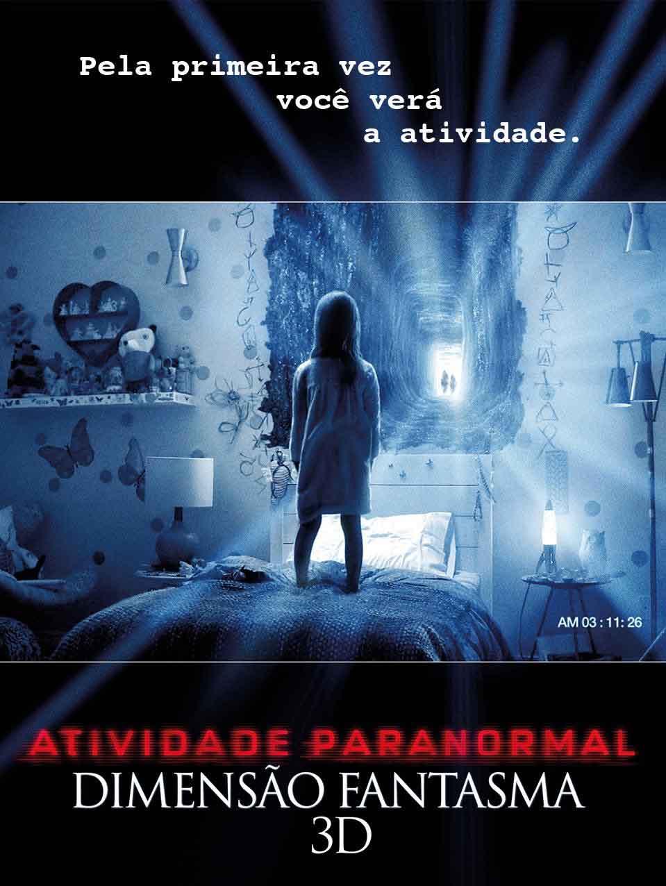 Assistir Atividade Paranormal – Dimensão Fantasma – Dublado