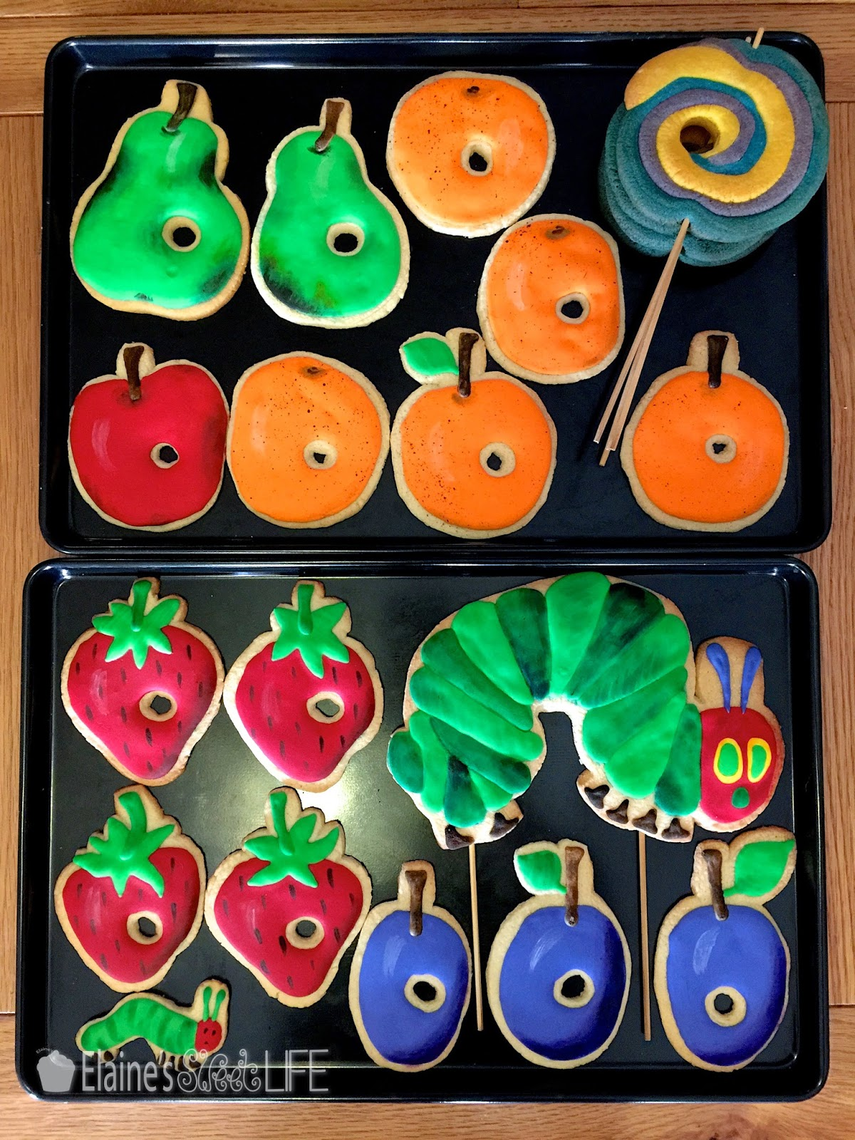elaine s sweet life the very hungry caterpillar party tutorial