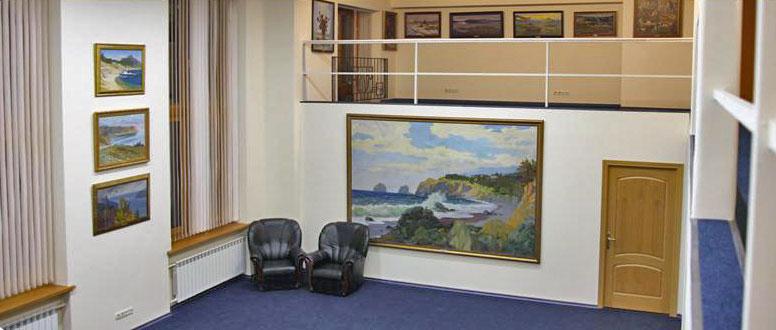 Зал для проведения выставок фото