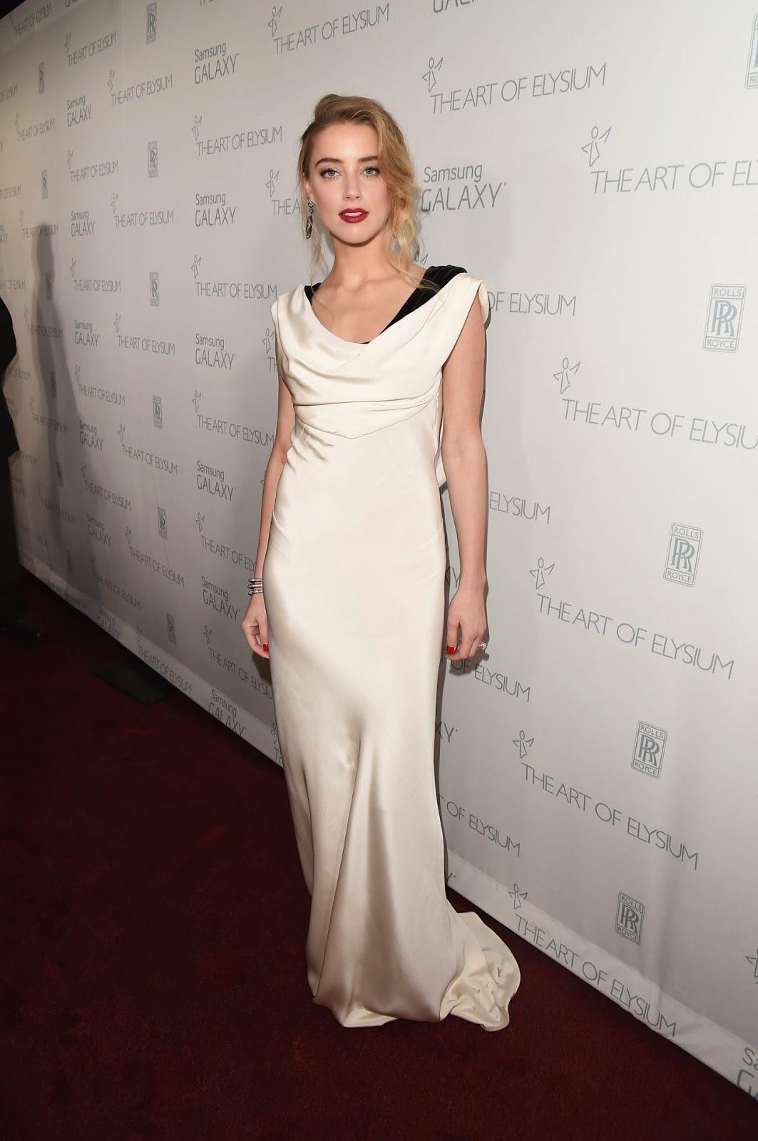 Amber Heard - Art of Elysium Annual Heaven Gala in LA