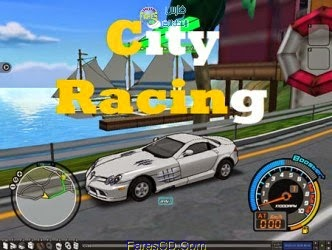 لعبة سباق السيارات الخفيفة City Racing بمساحة 25 ميجا للتحميل برابط مباشر