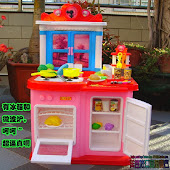 NEW My Kitchen & Play Food Set!!!RM180 only.