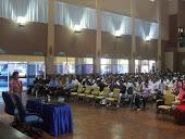 Seminar Kesihatan;Health Talk, Dr Ismail Tambi berdiri lebih lama ( 3jam pagi-2jam petang )